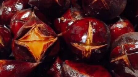你可以用十分简单的方法做出美味的板栗: 糖板栗