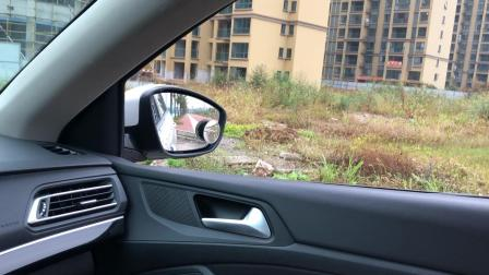 汽车后视镜, 司机这样调整角度的, 目测至少10年驾龄