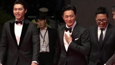 釜山国际电影节, 张东健玄彬携手走红毯, 下车太有气场了!
