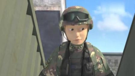 聪明的顺溜之雄鹰小子: 不愧是特战兵, 这样的演练堪比大片!