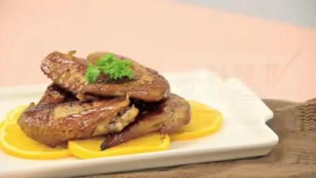 橙香蜂蜜烤鸡翅
