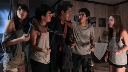 几分钟看完泰国恐怖片《凶灵假期》, 6男女误闯凶地遇猛鬼, 无一生还