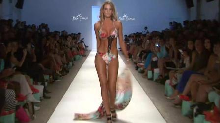 Luli Fama伦敦春夏时装周比基尼泳装秀, 超模走秀, 展现淋漓尽致的时尚!