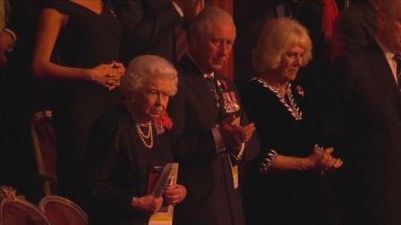 英国王室出席一战结束百年纪念音乐会