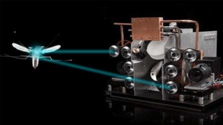 世界最牛的灭蚊神器, 30米内用激光炮灭百发百中, 一秒能灭掉100个