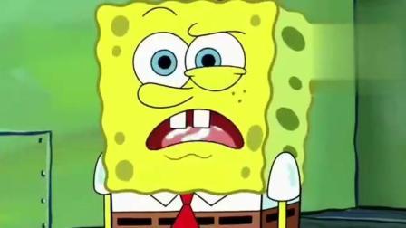海绵宝宝: 木头蘸乳胶做的三明治, 你敢吃吗? 反正我不敢! 有点反胃!