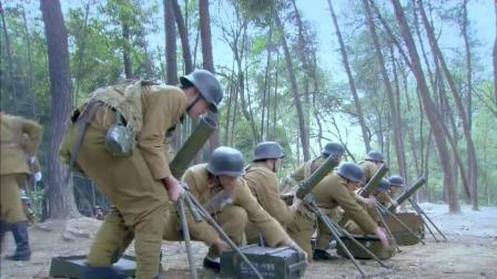 日军基地外, 国军迫击炮猛烈开火, 轰得鬼子大佐怀疑人生