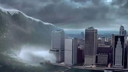 比《2012》更经典的灾难大片《天地大冲撞》, 5000万人瞬间被淹没!