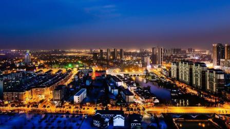 地图里看城市化, 滁州市来安县城市化发展