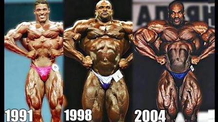 祖师爷体形进化1991-2007