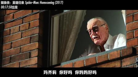 """""""客串侠""""漫威之父斯坦李老爷子客串过的漫威电影合集"""