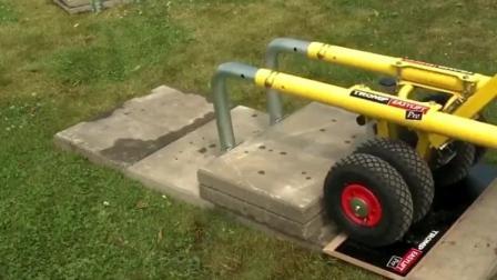 """民间牛人发明""""搬砖""""神器, 不用油不用电, 效率提升5倍"""