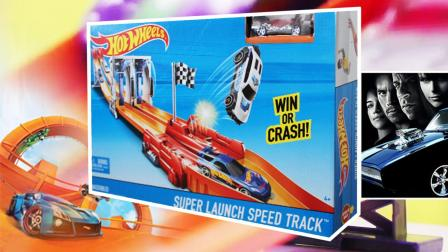 框框鱼户外玩具 风火轮火辣小跑车轨道套装 竞速挑战赛道BGJ24男孩赛车玩具