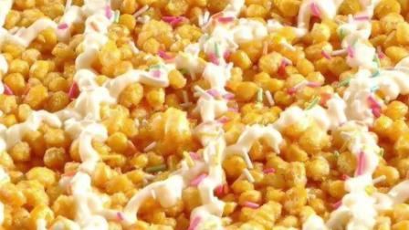 黄金玉米烙的家常做法, 酥脆香甜, 做法简单, 大人小孩都爱吃