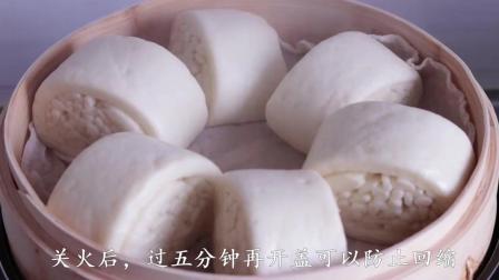 教你牛奶银丝卷, 奶香十足, 层次分明, 做法简单又好吃