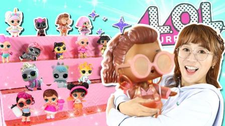 小伶玩具 超美LOL惊喜娃娃旗舰店人偶收纳盒!一起完成各种任务吧!