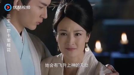 三生三世: 得知白浅封印擎苍, 其母一脸担心, 折颜的表情亮了!