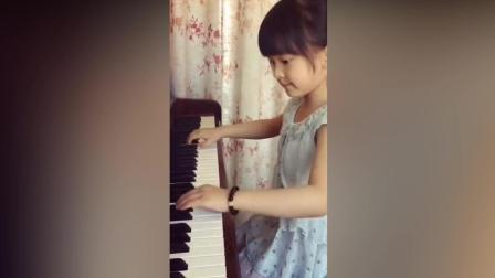 弹钢琴那么熟悉, 没想到是半年时间的成果