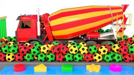 工程车混凝土搅拌车玩具
