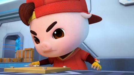 猪猪侠之超星萌宠 猪猪侠与迷糊博士的劳作时间