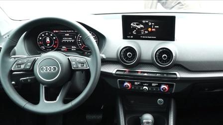 [60秒评新车]简约时尚两不误 再加点儿科技 全新奥迪Q2L内饰-CarSee车影