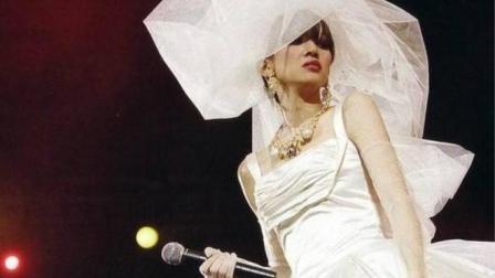 梅艳芳舞台绝唱, 身披婚纱演绎《夕阳之歌》, 重温经典!