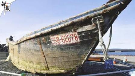 """日本海岸再现大量载有尸骨""""幽灵船"""""""