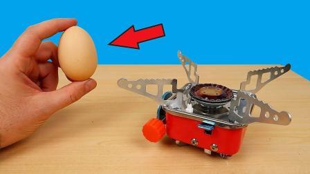 这个小发明就可以煮熟鸡蛋?