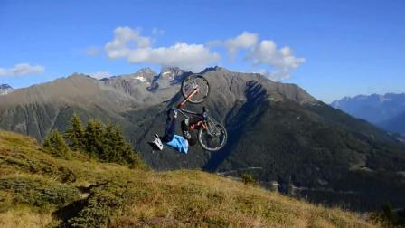 穿梭在山间的山地自行车, 自行车中的极限运动!