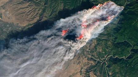 美加州出动至少200名囚犯救山火 时薪1美元