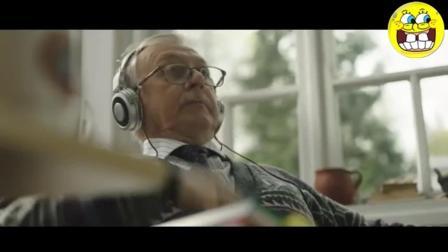 一则关于祖孙情的创意广告, 老爷爷自学英语的秘密!