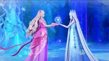 《叶罗丽》冰公主联手三大仙子毁灭世界, 灵公主又会作何选择?