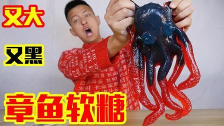 不作会死 2018:试吃又大又吓人的章鱼软糖! 几口下去这口感真的很吓人        9.3
