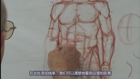 13.Glenn Vilppu 经典[人体比例解剖素描].proportion精细教学视频, 中文字幕版!