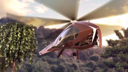 三个螺旋桨的直升机, 时速高达600公里, 比普通直升机快2倍!