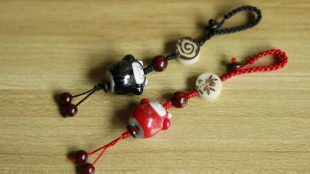 钥匙链情侣挂件编绳教程悦在指间原创