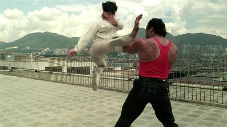 甄子丹经典影片《直击证人》: 甄子丹对战黑人