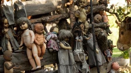 墨西哥最恐怖的岛, 岛上挂着2000只洋娃娃, 看起来令人毛骨悚然!