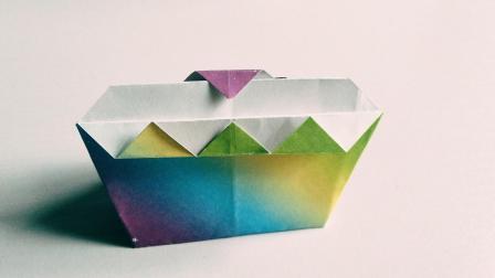拯救手残党系列, 简单易学的蛋糕折纸, 成品还很好看