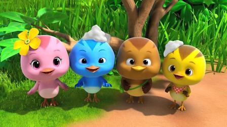 《萌鸡小队》萌鸡小队成为了气泡超人, 太酷了