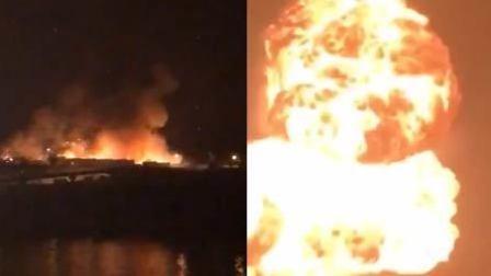 大连动物园附近发生爆炸 火光形成小蘑菇云