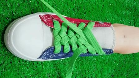 看着挺复杂, 其实挺简单的鞋带系法, 想学吗?