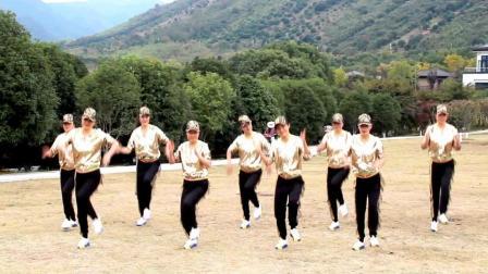 广场舞《九妹》零基础自由舞步24步