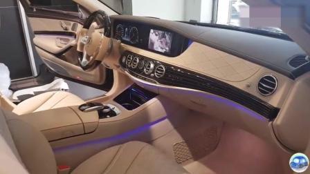 2018款奔驰迈巴赫S560有多奢华? 跟着实拍视频走进奔驰4S店了解下