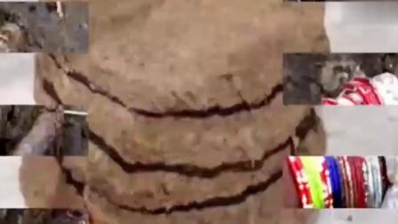 印度把牛粪做成饼 不仅供不应求 还要花高价才买得到!