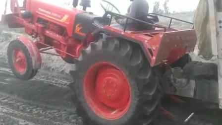 印度拖拉机 少拉一点 少拉是不可能的!