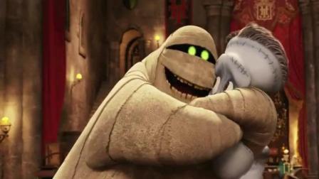 精灵旅社: 科学怪人和木乃伊也来了, 弗兰克故意捉弄莫里