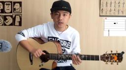【潇潇指弹教学】郑成河《Gravity》第三部分吉他指弹教学