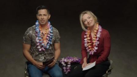 夏威夷神探 第一季 杰伊•赫尔南德兹与佩尔迪达•维克斯快问快答,介绍夏威夷风土人情