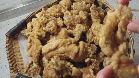 五花肉和排骨做传统川味小酥肉, 香酥不腻口, 做法简单
